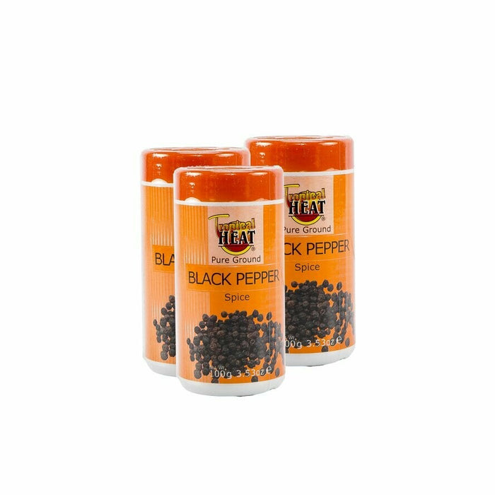 Tropical Heat Black Pepper | 100gm