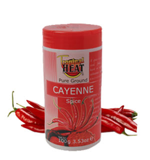 Tropical Heat Cayenne Pepper | 100g x 6