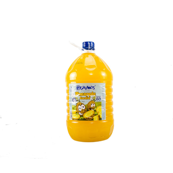 Juice Highlands Pineapple, orange, mango | 5L x 4