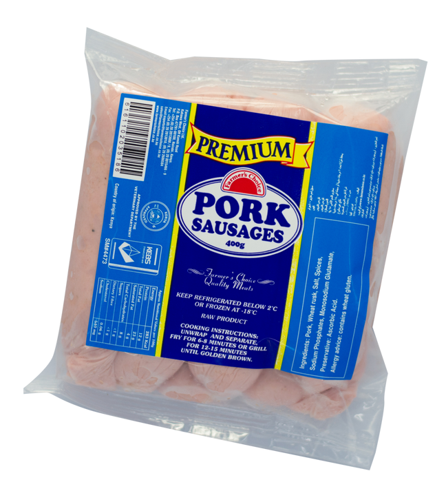 Premium Pork Sausages | 400g