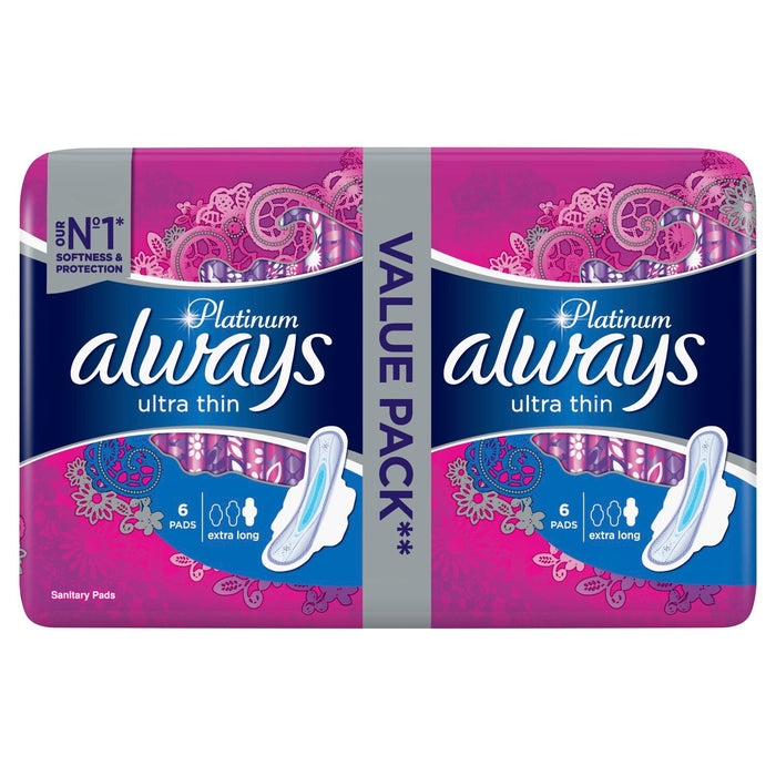 Always Ultra Platinum Extra Long Duo | 14's x 14