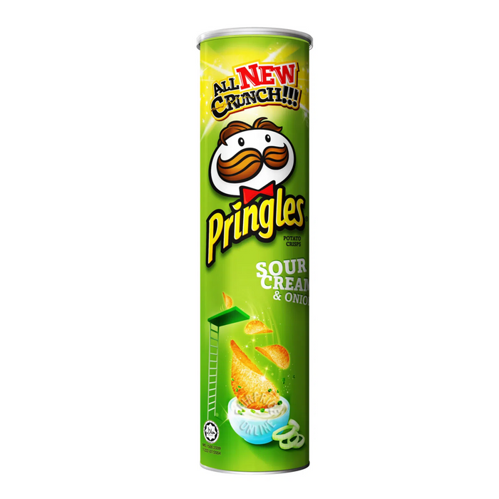 PRINGLES SOUR CREAM AND ONIONS | 165 G