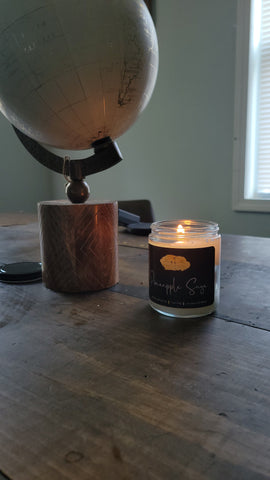 Pineapple x Sage Scented Candle