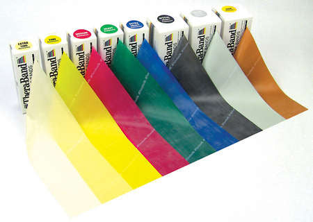 TheraBand 6 Yd Rolls--All Resistance Colors