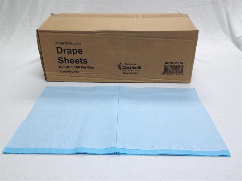 "40""x 48"" Drape Sheets 100/Box"