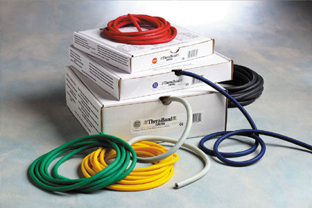 TheraBand 100' Resistance Tubing--All Resistance Colors