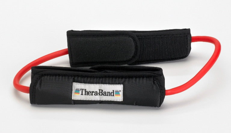 Thera-Band Tubing Loop with Padded Cuffs
