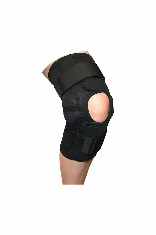 The Complete Wrap Hinged Knee Brace Sized