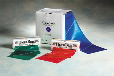 TheraBand 50 Yd Rolls--All Resistance Colors