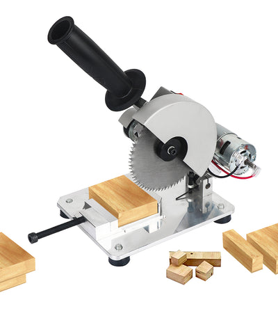 """This saw is PERFECT for cutting wood!"" - Mini Table Saw"