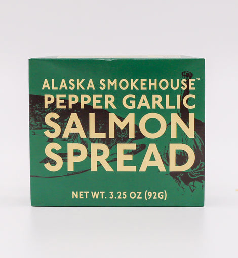 Alaska Smokehouse Pepper Garlic Salmon Spread 3.25oz