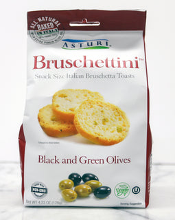 Asturi - Bruschettini - Black and Green Olives 4.23oz