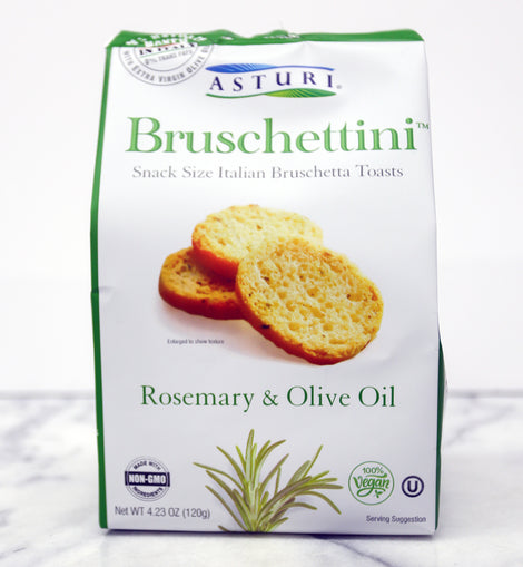 Asturi - Bruschettini - Rosemary & Olive Oil 4.23oz