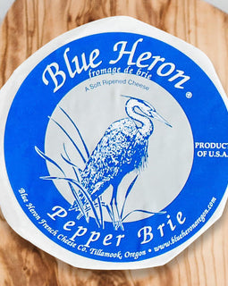 Blue Heron Brie: Pepper 8oz
