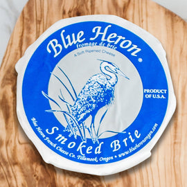 Blue Heron Brie: Smoked 8oz