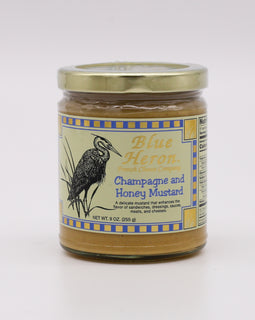 Blue Heron Mustard: Champagne and Honey 9oz