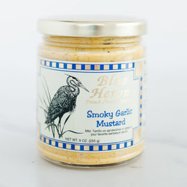 Blue Heron Mustard: Smoky Garlic 9oz