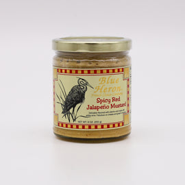 Blue Heron Spicy Red Jalapeno Mustard 9oz