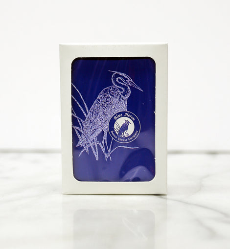 Blue Heron Playing Cards