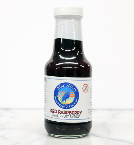Blue Heron Real Fruit Syrup - Red Raspberry 11oz
