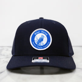 Blue Heron Trucker Hat - Navy Blue