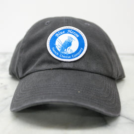 Blue Heron Twill Hat - Charcoal