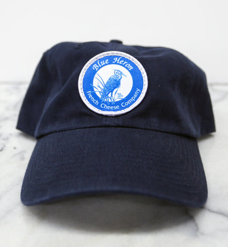 Blue Heron Twill Hat - Navy Blue