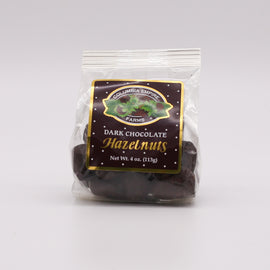 Columbia Empire Farms Hazelnuts - Dark Chocolate Covered 4oz