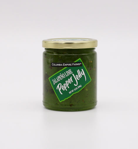 Columbia Empire Farms Pepper Jelly: Jalapeno Lime 12oz
