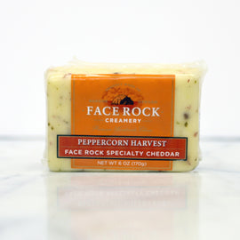 Face Rock Creamery Cheddar: Peppercorn Harvest 6oz