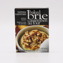 Gourmet Village Baked Brie Toppings: Maple & Walnut 1.8oz