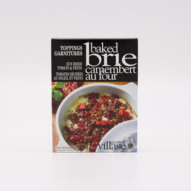 Gourmet Village Baked Brie Toppings: Sun Dried Tomato & Pesto .56oz
