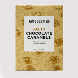 Jacobsen Co - Salty Chocolate Carmels 6.5oz