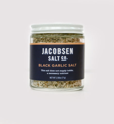Jacobsen Salt Co - Black Garlic Salt 2.25oz
