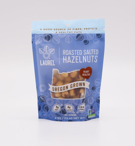 Laurel Foods Hazelnuts: Roasted Salted 4oz