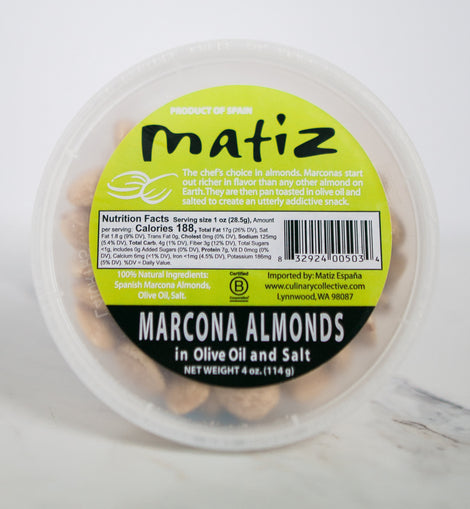 Matiz Marcona Almonds 4oz