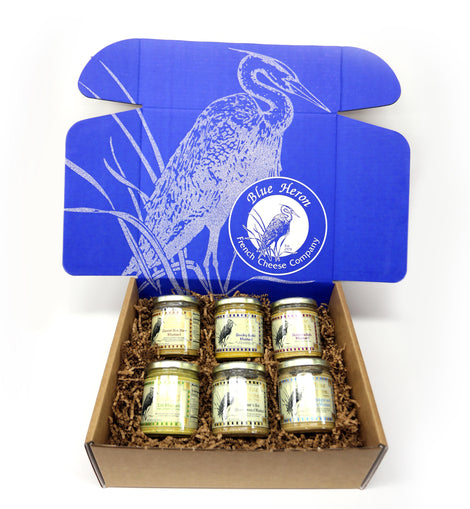 Blue Heron Mustard Flight Box