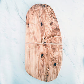 Olive Wood Cheese Board 13.5in