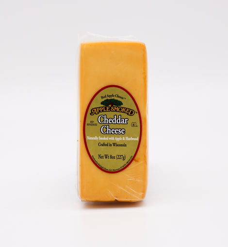 Red Apple Cheese Cheddar: Apple Smoked 8oz
