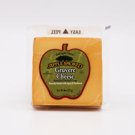 Red Apple Cheese Gruyere: Apple Smoked 8oz