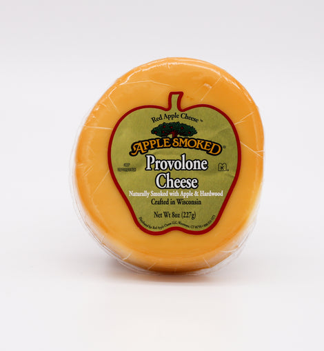 Red Apple Cheese Provolone: Apple Smoked 8oz