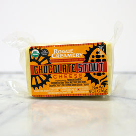 Rogue Creamery Cheddar: Chocolate Stout 8oz