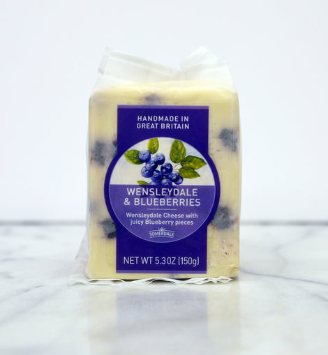 Somerdale Wensleydale: Blueberry 5.3oz