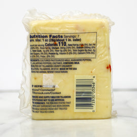 Tillamook Cheese - Hot Habanero Jack 7oz