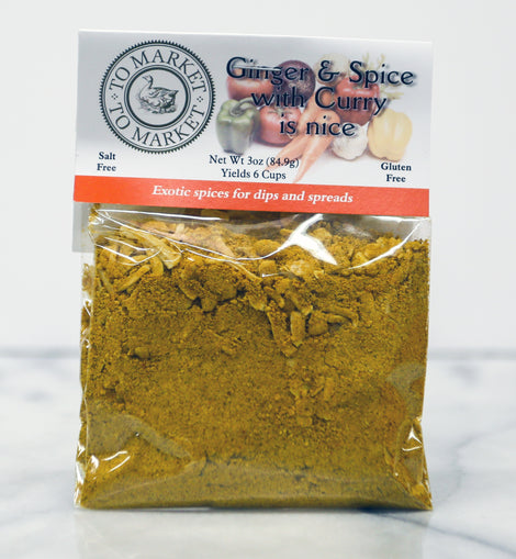 To Market - To Market Dip Mix: Ginger & Spice with Curry 3oz