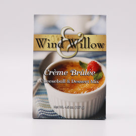 Wind & Willow Cheeseball & Dessert Mix - Creme Brulee 4.5oz
