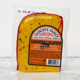 Yancey's Fancy Cheese - Habanero & Jalapeno Cheddar 7.6oz