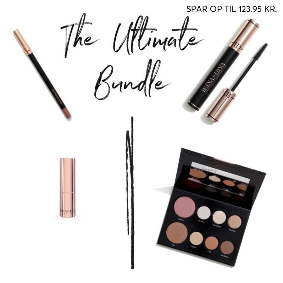 The Ultimate Bundle - Exclusive IrinaOlsen.dk Bundle - SPAR OP TIL 100 KR - Irina The Diva make upTilbud