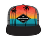 Naish Cap Palm Sunset Trucker