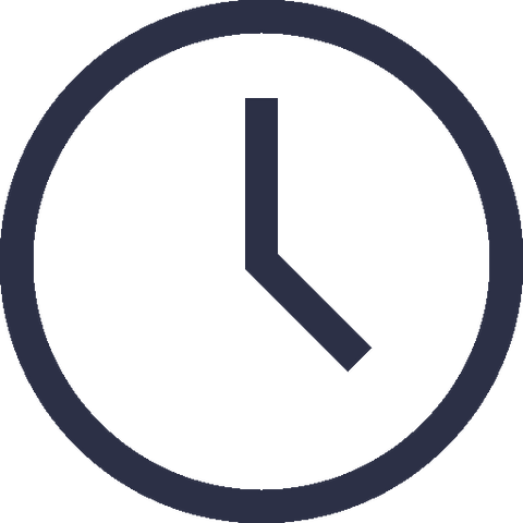 KAHLL clock icon for opening hours at www.kahll.com